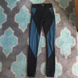 AMERICAN EAGLE AEO Joggers Leggings S Black Blue